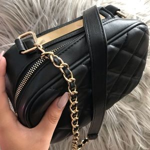 Forever 21 black mini purse